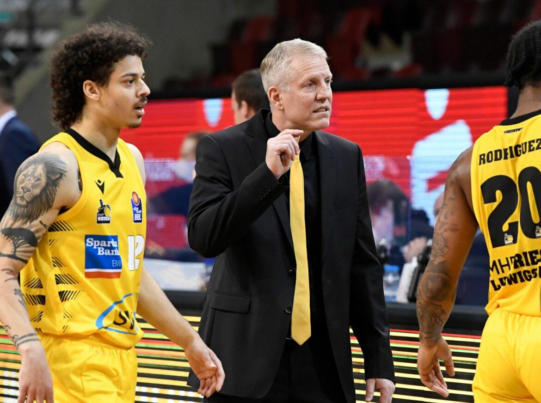Ludwigsburg verlängert mit Basketball-Erfolgscoach Patrick