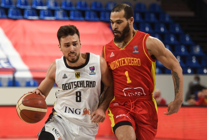 Deutsche Basketballer verlieren auch gegen Montenegro