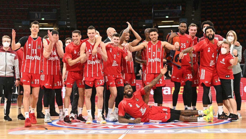 Bayern-Basketballer vor Euroleague-Playoffs