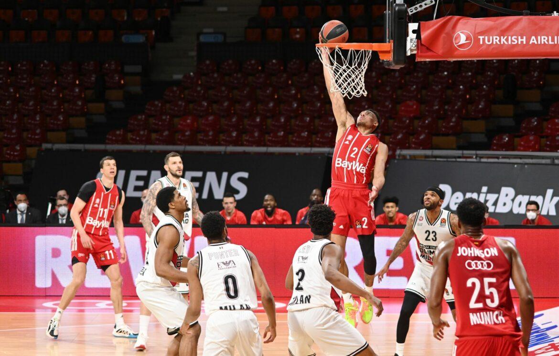Bayern-Basketballer besiegen Mailand und vermeiden Aus