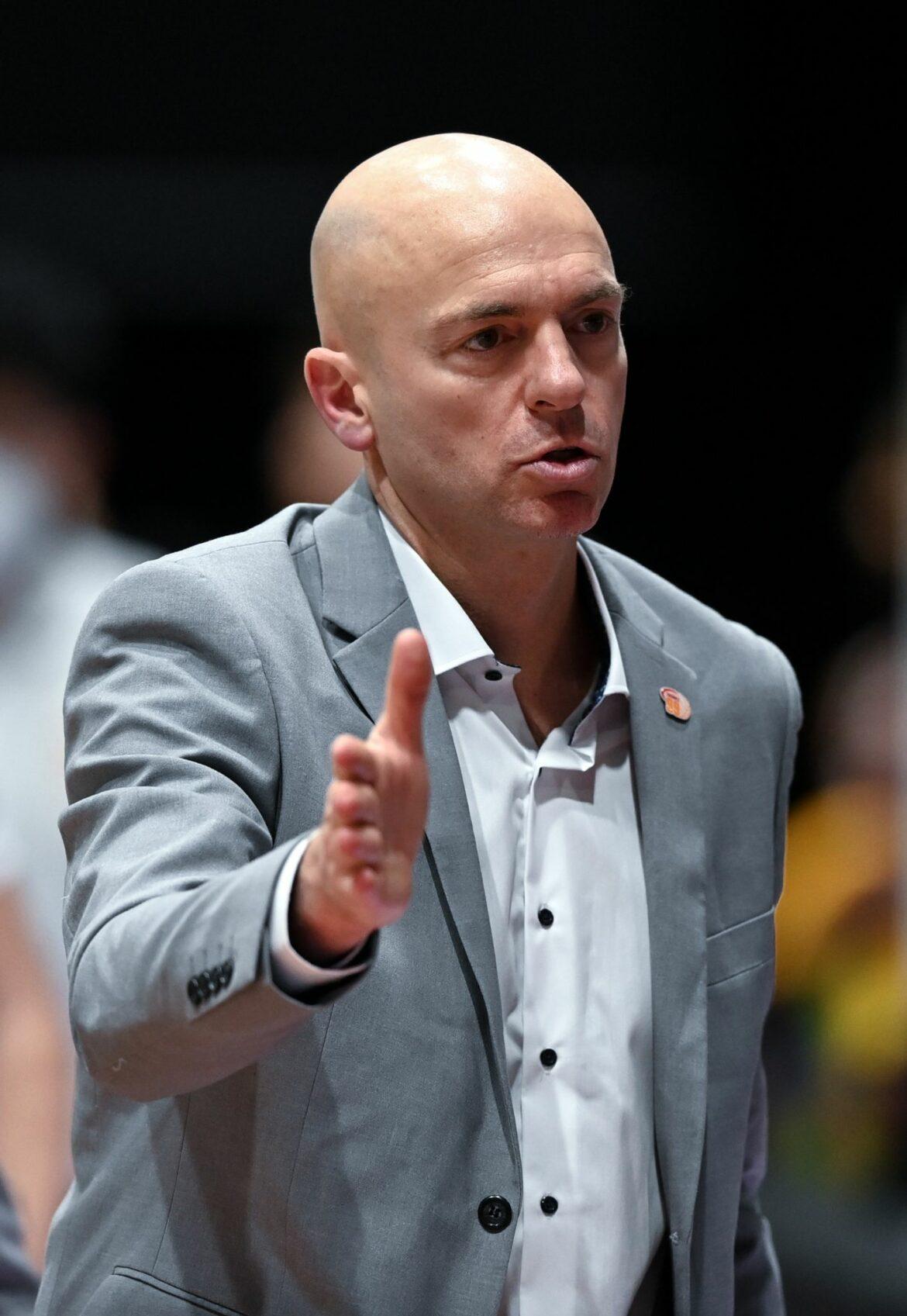 Niners Chemnitz verlängern mit Cheftrainer Pastore