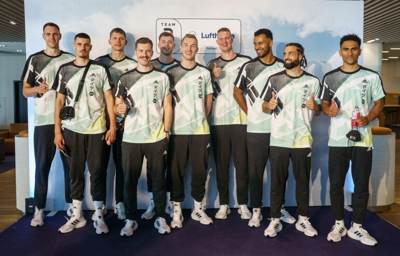 Deutsche Basketballer mit lockerem ersten Training in Tokio