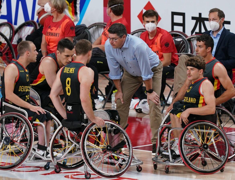 Beide Rollstuhlbasketball-Teams bezwingen Großbritannien