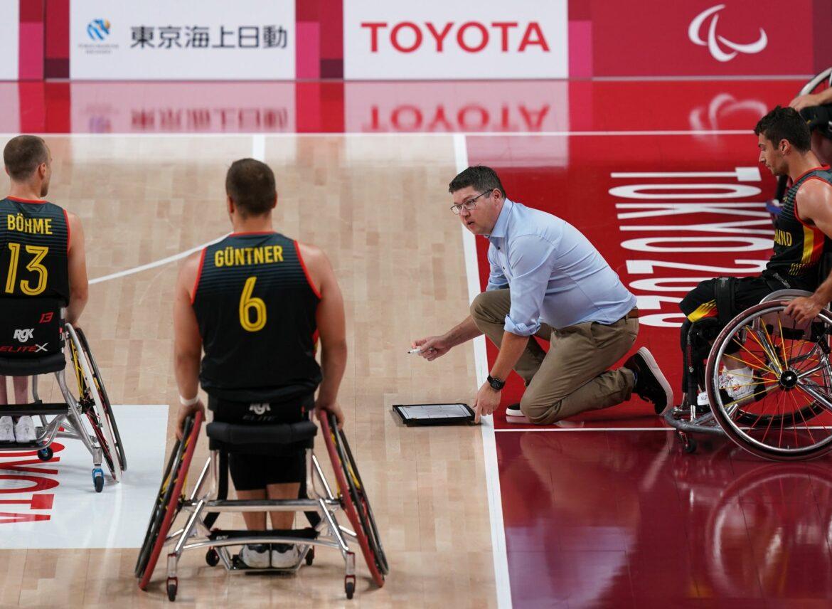 Rollstuhl-Basketballer verlieren gegen Australien