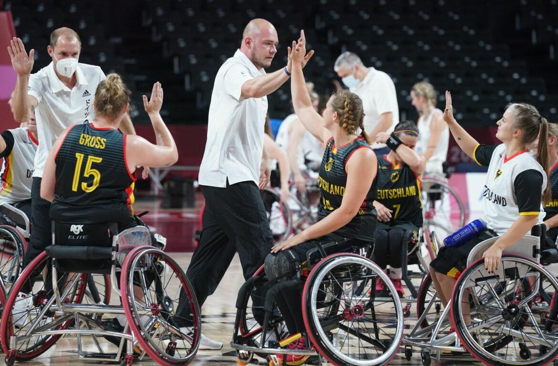 Zwei Siege für deutsche Rollstuhlbasketballmannschaften
