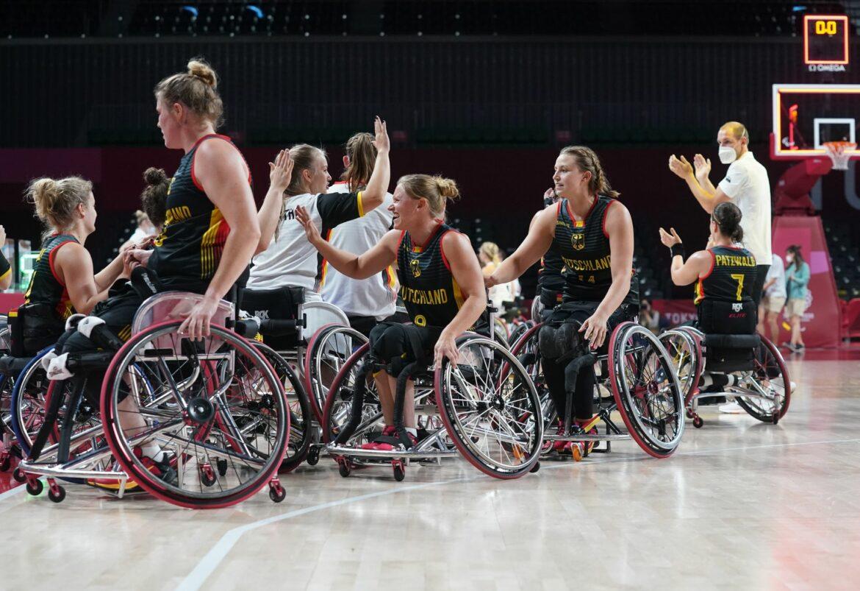 Deutsche Rollstuhl-Basketballerinnen erreichen Halbfinale
